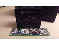 Xbox One Elite Console 1TB + Controller + 4 new games brand new!!!