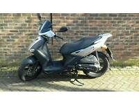Kymco agility 125 cc one year mot under 1000 milles on the clock one lady owner from new 995ono