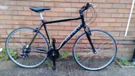 For sale hybrid Carrera Zelos ,frame 54cm ,700c wheels very good condition .