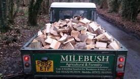 Full Truck Load of seasoned Logs