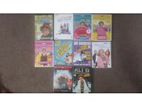 10 very funny dvds some double and triple