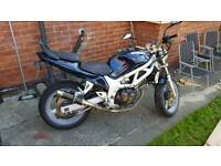 Suzuki sv650 ideal 1st big bike price reduced