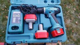 Makita 6271DWPE3 12V Drill / Driver with 3x1.3 Ah Ni-Cad Batteries