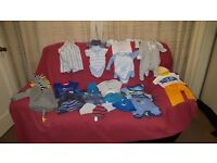 Boys Clothes 0-3 months/newborn Sleepwear and Daywear Bundle