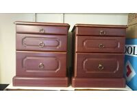 BED SIDE CABINETS X2