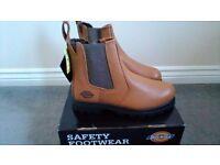Dickies steel toe cap boots dealer boots 8/9