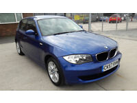 2007 BMW 1 SERIES 116i SE ORIGINAL 61000 MILES. FULL SERVICES HISTORY. PERFECT RUNNER.