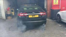 Jaguar XF XJ Fault DPF Filter Clean Regen