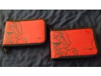 Super mario Nintendo ds or 3ds carry cases