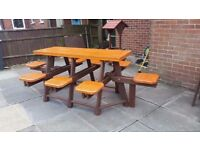 6 to 8 Seater Garden Bench with a Difference