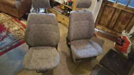 vw t4 single driver's and passenger's seats