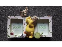 Winnie The Pooh double photo frame - New