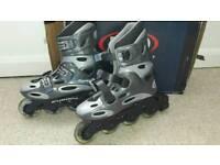 Roller derby size 6 inline skates rollerblades