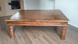 Solid wood living room furniture