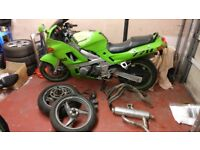 zzr600 kawasaki project motorbike kit spares repairs running