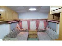 2 berth spacious touring caravan