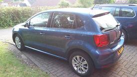 VW Polo SE 1.0L 60ps 5 Door with metallic paint