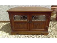 Old Charm TV Cabinet in as new immaculate condition
