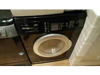 Black bosch washing machine