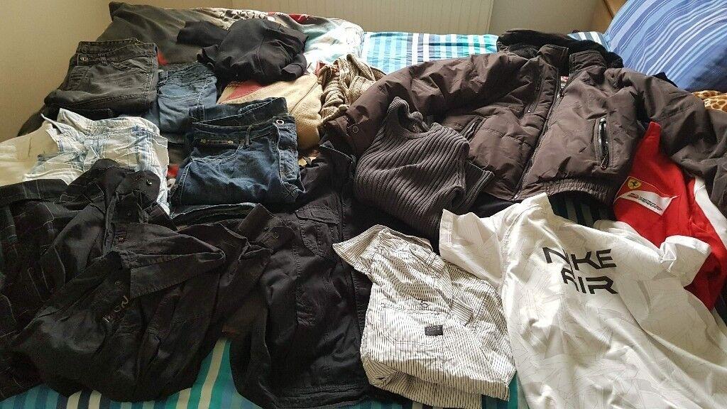 clothes bundle m size