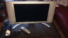 Philips 23 Inch Dolby Stereo HD LCD WXGA display, 1280 x 768p TV Television