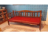 Antique Wooden Day Bed
