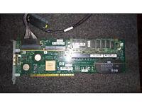 337972-B21 Smart Array P600 Ext PCI-X SAS/SATA Controller 8-Port/2x4 256MB Cache