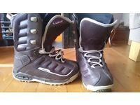K2 Snowboard boots UK size 7/euro 40
