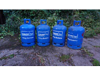 15kg Calor Butane Cylinders (4) Empty (£15 each or all 4 for £50) near Newcastle Airport