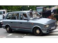 ****WANTED****london taxi tfl plated or plateable metrocab ttt