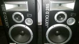 Jamo d265 speakers and Gale force 25s
