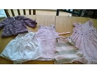 Girls clothes, age 3 mths and 6/9mths, designer labels, great condition, lots of lovely details.
