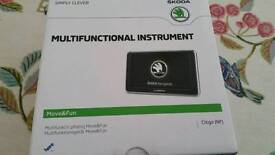 SKODA CITIGO PID GARMIN SAT NAV MOVE & FUN MULTIFUNCTIONAL INSTRUMENT
