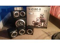 Sumvision Vcube 5.1 Bluetooth Surround Sound Speakers System