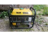 Wolf power 1200 generator in working order