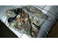 """Free Spirit Fishing """"Carpy"""" Camouflage Clothing XL"""