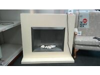 Electric fire and surround - British Heart Foundation