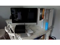 "iMac 27"" 2011 with free printer,mouse,trackpad & time capsule bundle"
