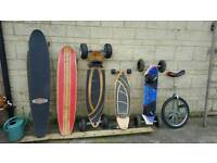 Selection of skateboard s for sale