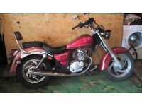 125 Chopper style Sinnis Vista learner Legal - same as Lexmoto Lowride and Suzuki Marauder