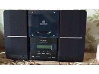 PURE DAB remote control cd/radio
