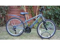 Apollo Switch boys mountain bike for 8 to 12 year olds