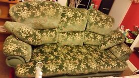 3 seater plus 1 arm chair