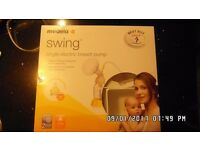 GOOD CONDITION Medela Swing Electric Breastpump with Extras!!!