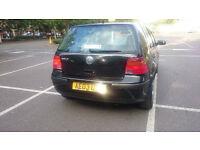 2003 VW GOLF 1.4 Black