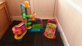 Fisher price ballapolooza and vtech walker
