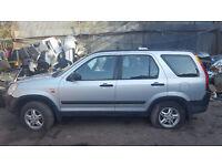 Honda CRV 2002 2.0 Petrol i-VTEC for Breaking - CALL NOW!!!