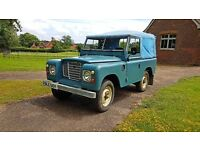 Outstanding Series 3 Land Rover. Low mileage. Original and unspoiled. New MOT with no advisories