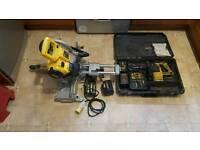 Dewalt chop saw and sds drill