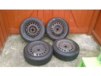 Vauxhall wheels and winter tyres 185/60/r15 meriva,corsa,astra